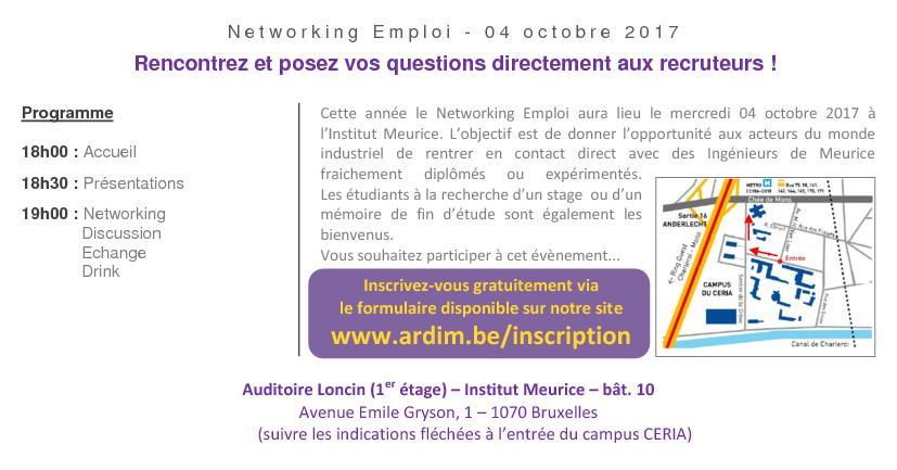Networking Emploi 2017