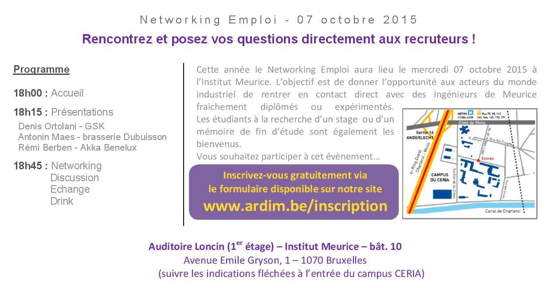 invitation networking ardim 2015 verso
