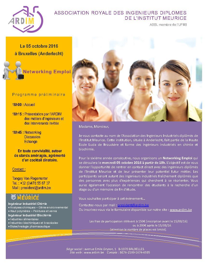 Invitation Entreprises